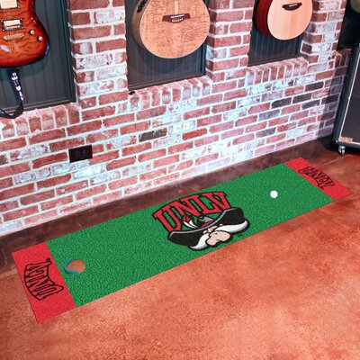 Collegiate NCAA Syracuse University Putting Green Doormat NCAA Team: UNLV