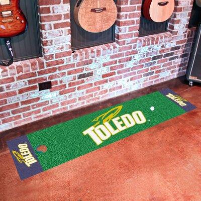 Collegiate NCAA Syracuse University Putting Green Doormat NCAA Team: Toledo