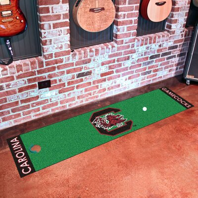 Collegiate NCAA Syracuse University Putting Green Doormat NCAA Team: South Carolina