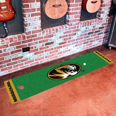 NCAA Syracuse University Putting Green Mat NCAA Team: Missouri