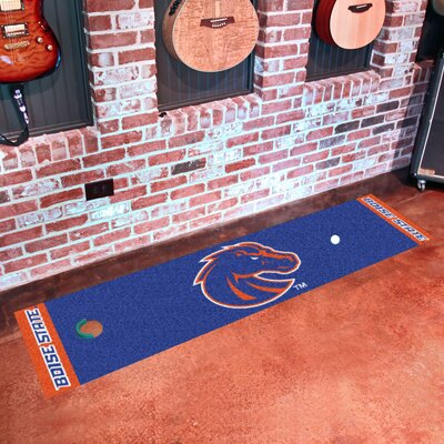 Collegiate NCAA Syracuse University Putting Green Doormat NCAA Team: Boise State