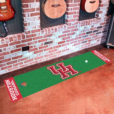 Collegiate NCAA Syracuse University Putting Green Doormat NCAA Team: Houston