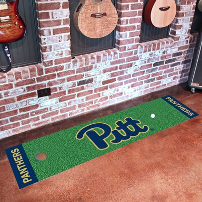 Collegiate NCAA Syracuse University Putting Green Doormat NCAA Team: University of Pittsburgh