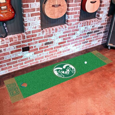 NCAA Syracuse University Putting Green Mat NCAA Team: Colorado State University