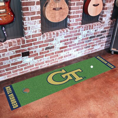 NCAA Syracuse University Putting Green Mat NCAA Team: Georgia Tech