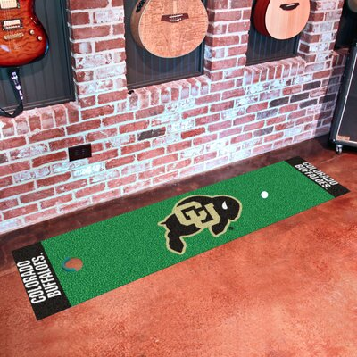 Collegiate NCAA Syracuse University Putting Green Doormat NCAA Team: University of Colorado