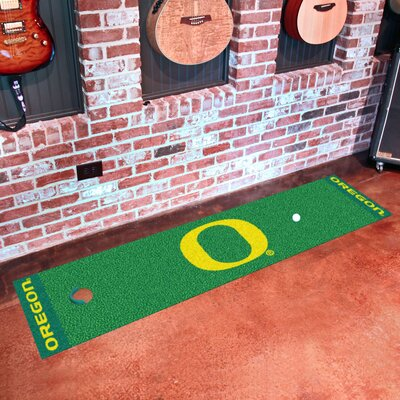 Collegiate NCAA Syracuse University Putting Green Doormat NCAA Team: University of Oregon