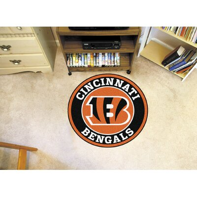 NFL Cincinnati Bengals Roundel Mat