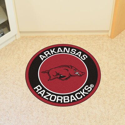 NCAA University of Arkansas Roundel Mat