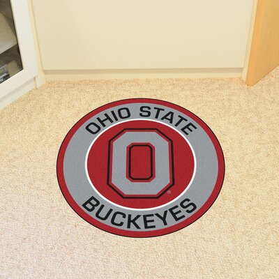 NCAA Ohio State University Roundel Mat
