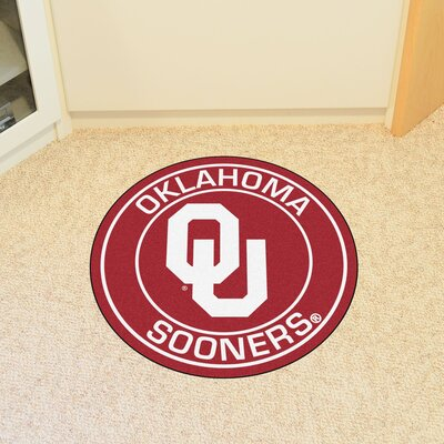 NCAA University of Oklahoma Roundel Mat