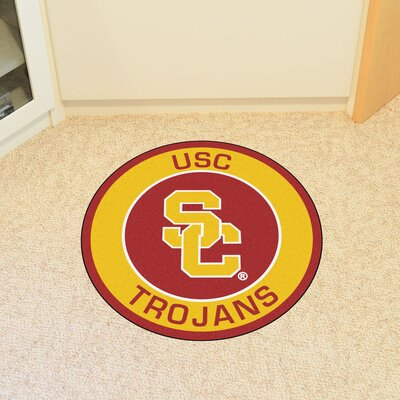 NCAA University of Southern California Roundel Mat