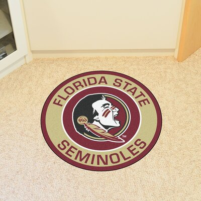 NCAA Florida State University Roundel Mat