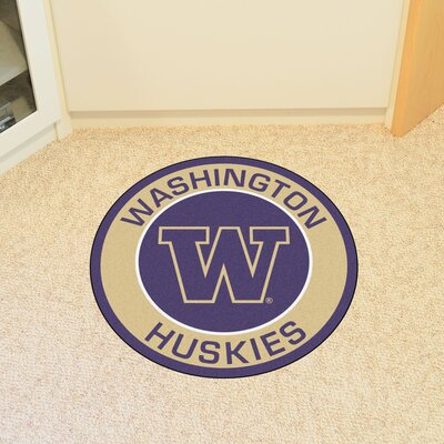 NCAA University of Washington Roundel Mat