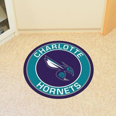 NBA Charlotte Hornets Roundel Mat