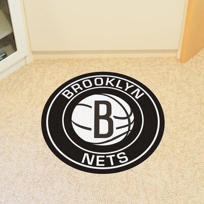 NBA Brooklyn Nets Roundel Mat