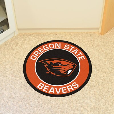 NCAA Oregon State University Roundel Doormat