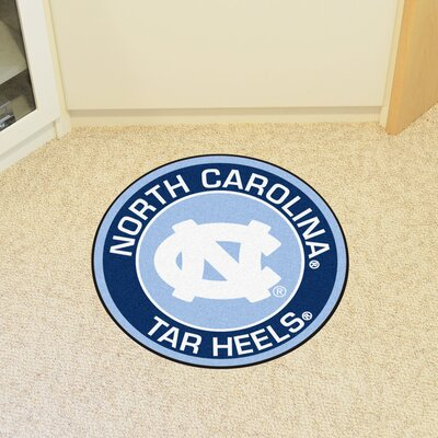 NCAA University of North Carolina - Chapel Hill Roundel Mat