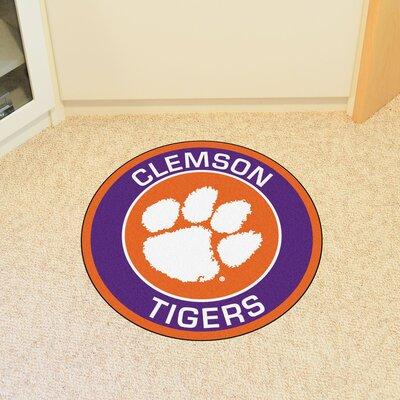 NCAA Clemson University Roundel Mat