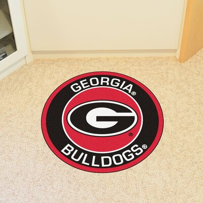 NCAA University of Georgia Roundel Mat