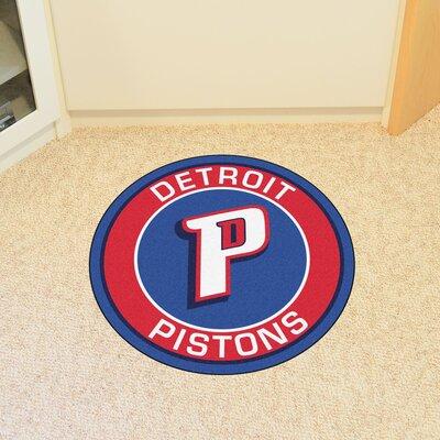 NBA Detroit Pistons Roundel Mat