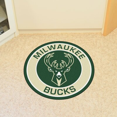 NBA Milwaukee Bucks Roundel Mat