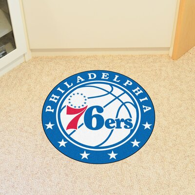 NBA Philadelphia 76ers Roundel Mat