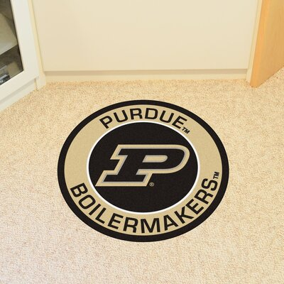 NCAA Purdue University Roundel Mat