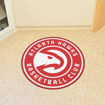 NBA Atlanta Hawks Roundel Mat