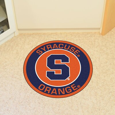 NCAA Syracuse University Roundel Mat