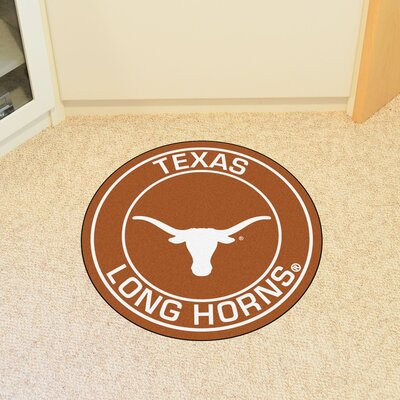 NCAA University of Texas Roundel Mat