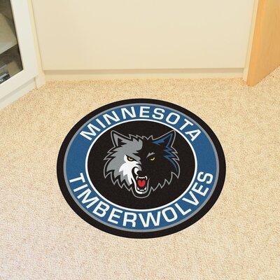 NBA Minnesota Timberwolves Roundel Mat