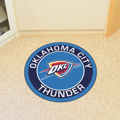 NBA Oklahoma City Thunder Roundel Mat