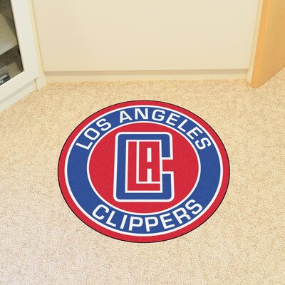 NBA Los Angeles Clippers Roundel Mat