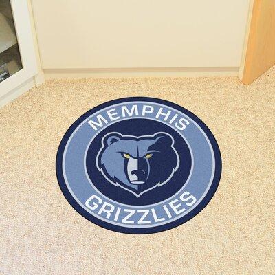 NBA Memphis Grizzlies Roundel Mat