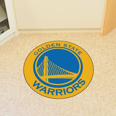 NBA Golden State Warriors Roundel Mat