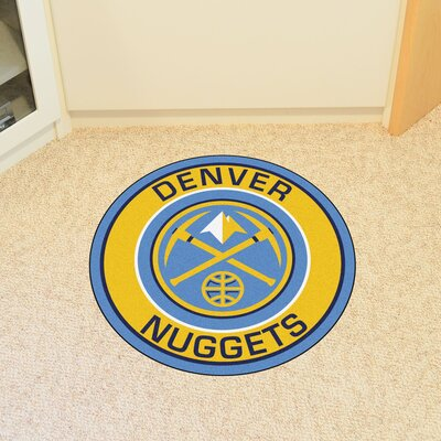 NBA Denver Nuggets Roundel Mat
