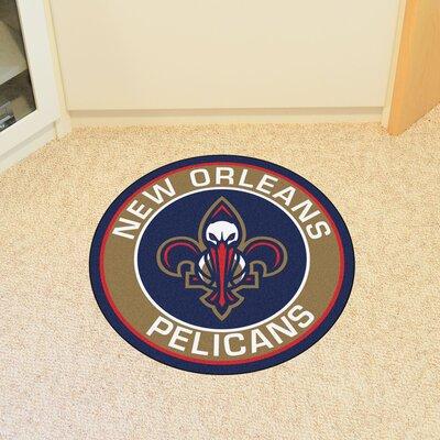 NBA New Orleans Hornets Roundel Mat