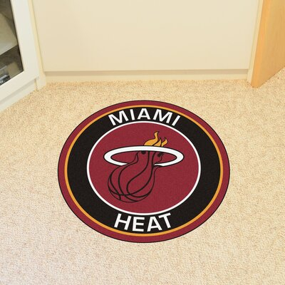 NBA Miami Heat Roundel Mat