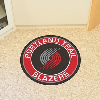 NBA Portland Trail Blazers Roundel Mat