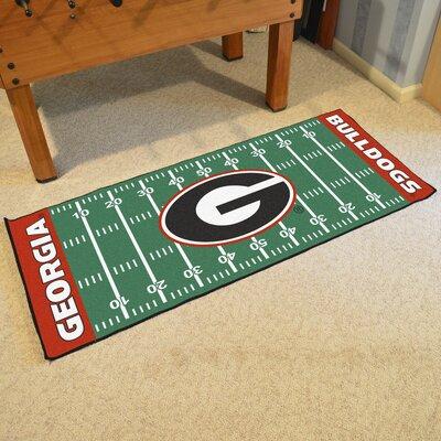 NCAA University of Georgia Football Field Runner
