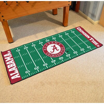 NCAA University of Alabama Football Field Runner
