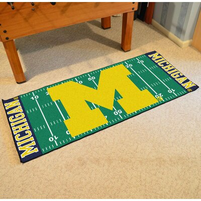 NCAA University of Michigan Football Field Runner