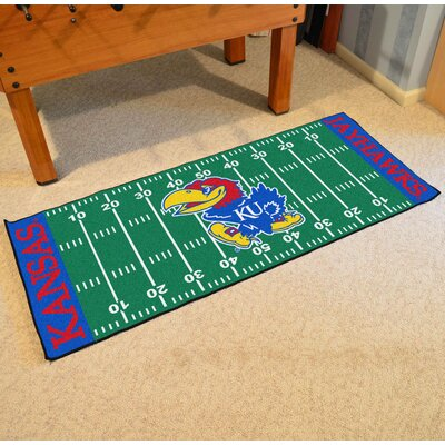 NCAA University of Kansas Football Field Runner