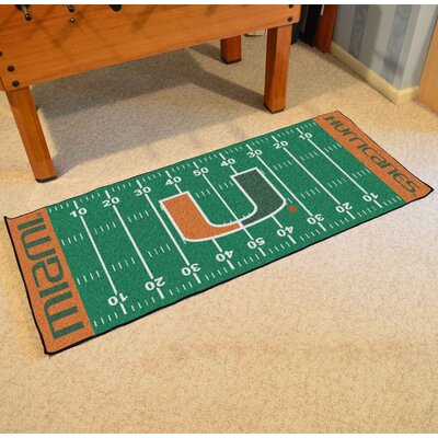 NCAA University of Miami Football Field Runner