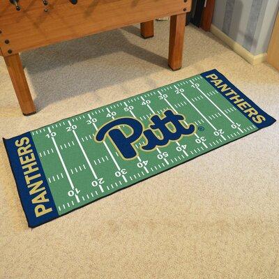 NCAA University of Pittsburgh Football Field Runner