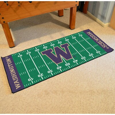 NCAA University of Washington Football Field Runner