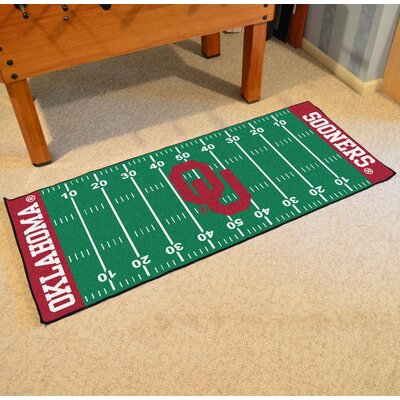 NCAA University of Oklahoma Football Field Runner