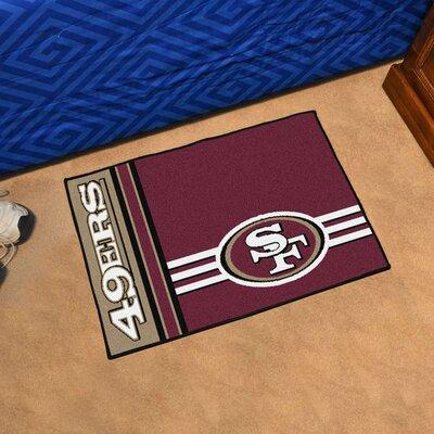 NFL San Francisco 49ers Starter Mat