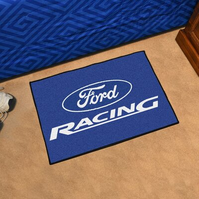Ford - Ford Racing Tailgater Mat Rug Size: 17 x 26